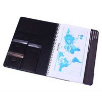 QUILL PREMIUM NOTE BOOK 200 PAGE A4 BLACK