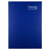 CUMBERLAND 2020 PREMIUM BUSINESS DIARY CASEBOUND DAY TO PAGE 15 MINUTES A4 BLUE