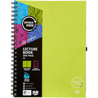 SPIRAX P958 KODE LECTURE BOOK 200 PAGE A4 GREEN