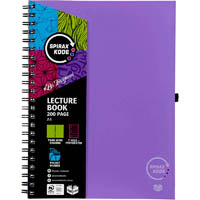 SPIRAX P958 KODE LECTURE BOOK 200 PAGE A4 PURPLE