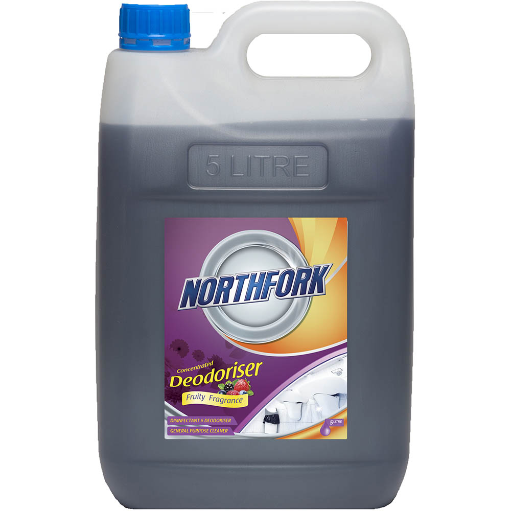 Image for NORTHFORK DEODORISER CONCENTRATED FRUITY FRAGRANCE 5 LITRE CARTON 3 from Mackay Business Machines (MBM)