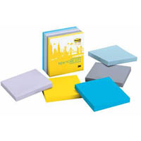 POST-IT 654-5SSNY NOTES NEW YORK COLLECTION 76 X 76MM ASSORTED PACK 5