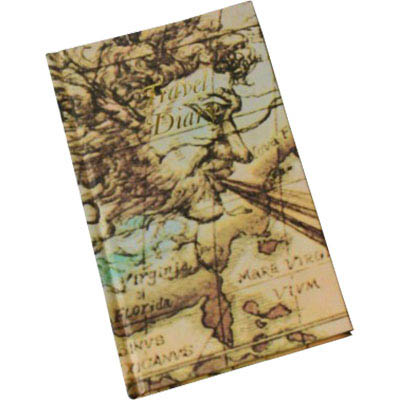 CUMBERLAND TRIP BOOK WORLD MOTIF 170 X 105MM