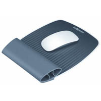 FELLOWES ISPIRE WRIST ROCKER AND MOUSEPAD GREY
