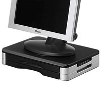 AURORA MONITOR PRINTER STAND WITH USB HUB