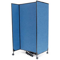 GREAT DIVIDER MODULAR SCREENS STARTER KIT 1828MM BLUE