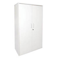 RAPID SPAN CUPBOARD LOCKABLE 900 X 450 X 1800MM WHITE