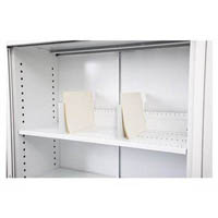 GO STEEL EXTRA SHELF 900 X 390MM WITH 4 CLIPS GRAPHITE RIPPLE