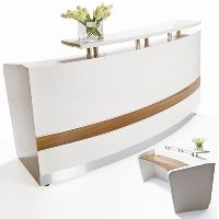 CONSERVATORY RECEPTION COUNTER 2200 X 1145 X 1150 WHITE