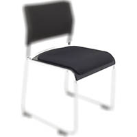 RAPIDLINE WIMBLEDON VISITORS CHAIR SEAT CUSHION BLACK